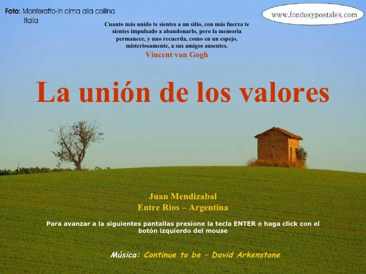 La Union De Los Valores