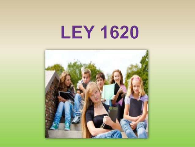 LEY 1620 COLOMBIA