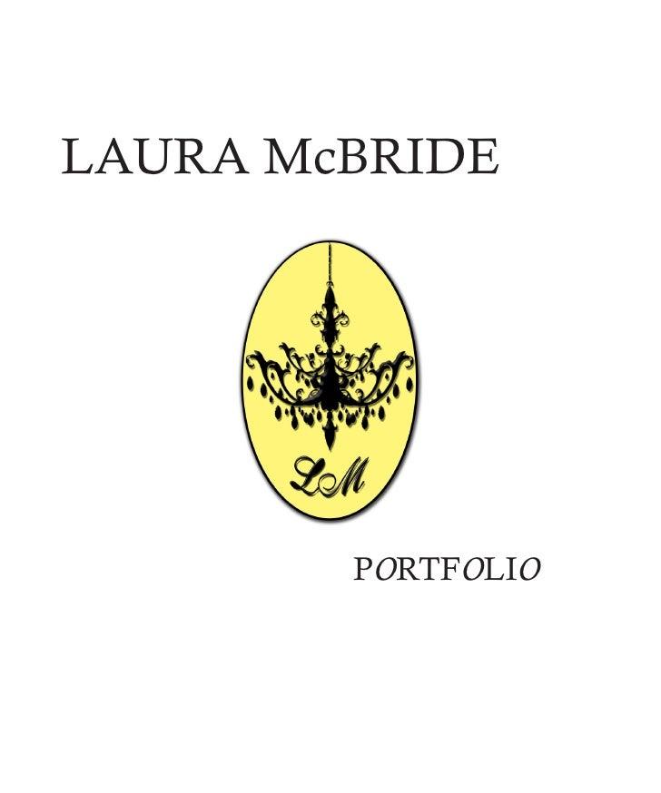 LAURA McBRIDE             PORTFOLIO