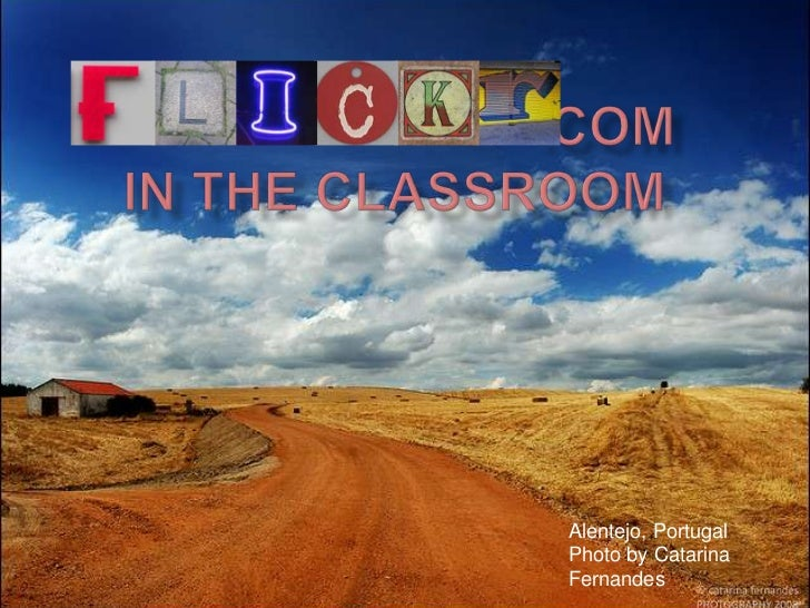 Flickr in the classroom