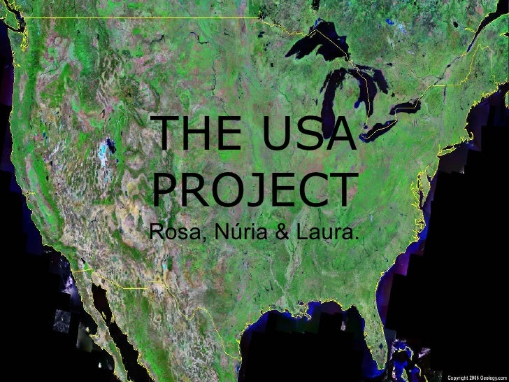 THE USA PROJECT Rosa, Núria & Laura.