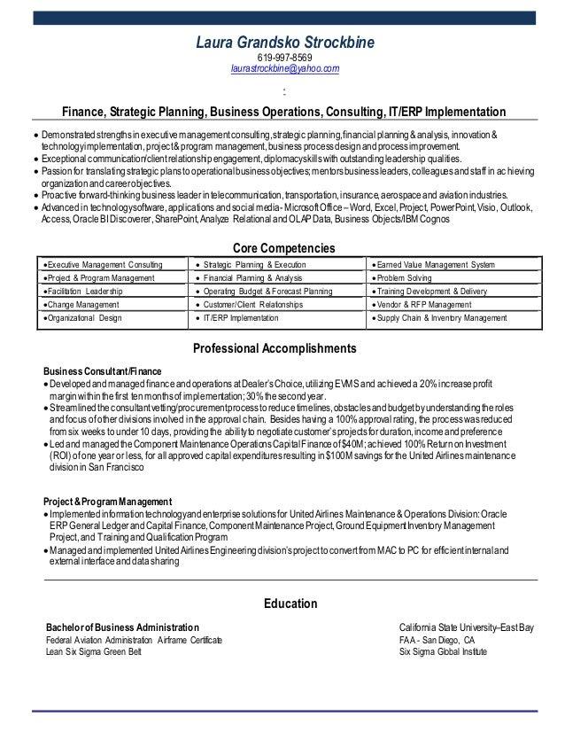 laura strockbine resume