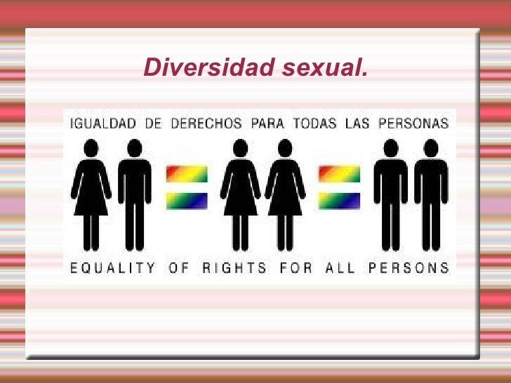 Diversidad sexual 1