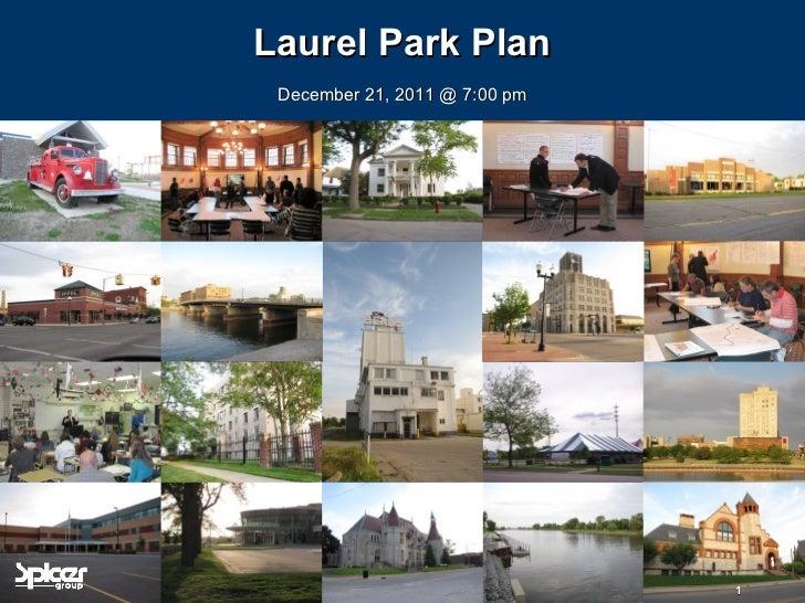 Laurel Park Plan
