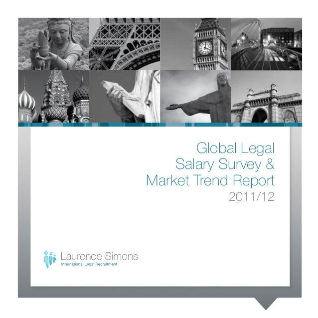 Global Legal Salary Survey & Market Trend Report 2011/12