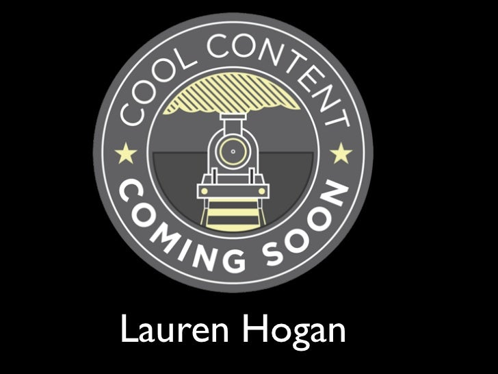 Lauren Hogan: Personalising Web Content for Visitors to Cornwall