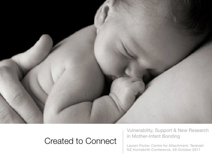 Vulnerability, Support & New Research                     in Mother-Infant BondingCreated to Connect   Lauren Porter, Cen...