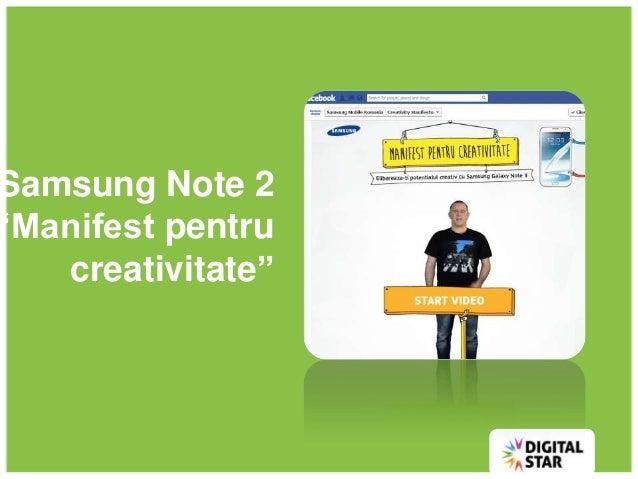 Samsung case study by Laurentiu dumitrescu @ All Things Facebook