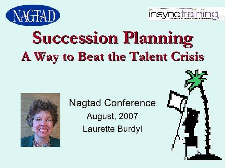 Laurette Succession Planning