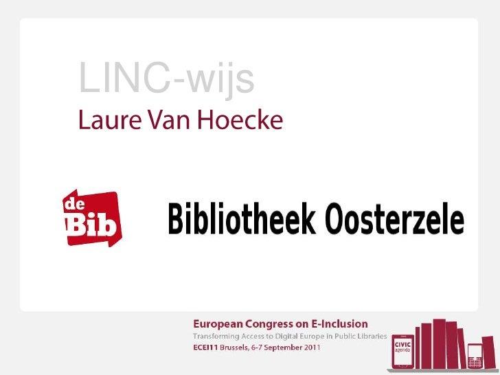 LINC-wijs<br />Laure Van Hoecke<br />