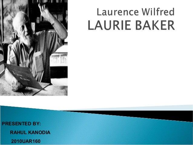 Laurie baker