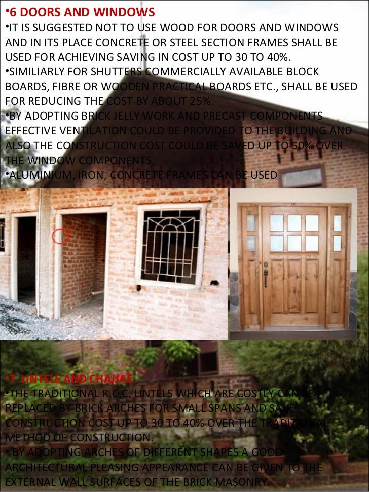 Low cost construction for Low cost building