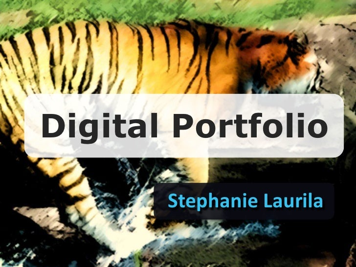 Digital Tools for the Visual Arts Portfolio