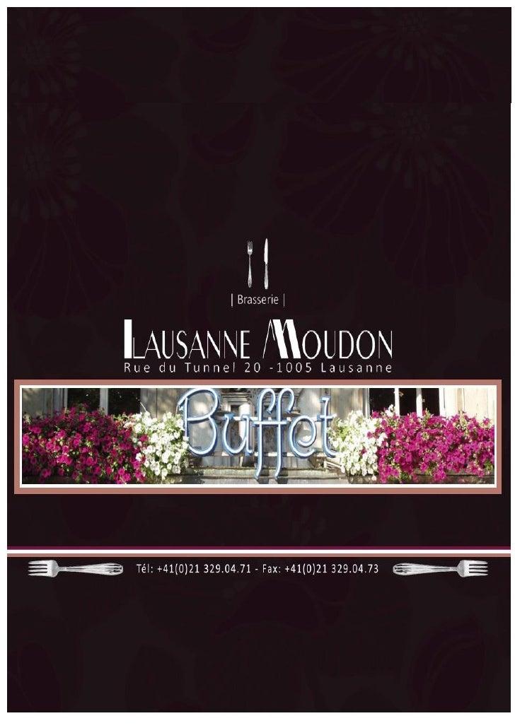 Lausanne moudon catalogue