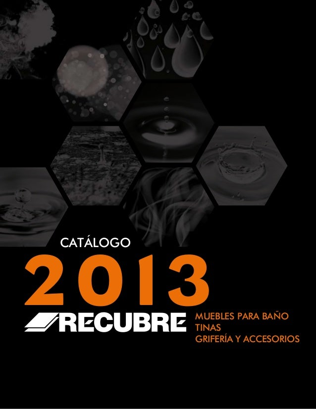 Muebles De Baño Wave:CATÁLOGO2013MUEBLES PARA BAÑOTINASGRIFERÍA Y ACCESORIOS