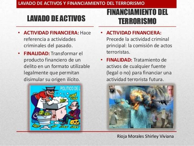 Resultado de imagen para lavado de activos y financiamiento del terrorismo