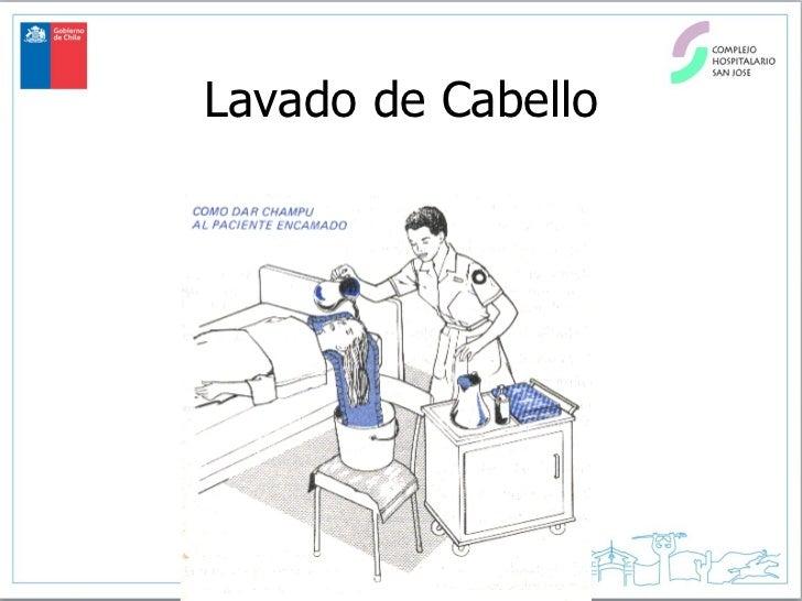 Baño General En Cama Al Paciente:Carmen Lavado