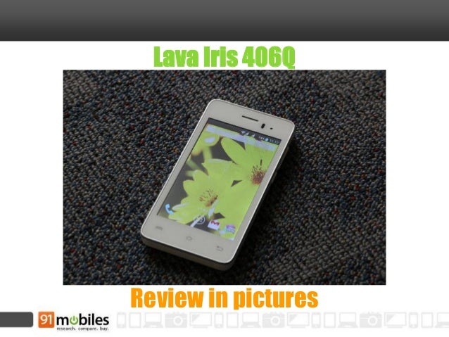 Lava Iris 406Q Review in pictures