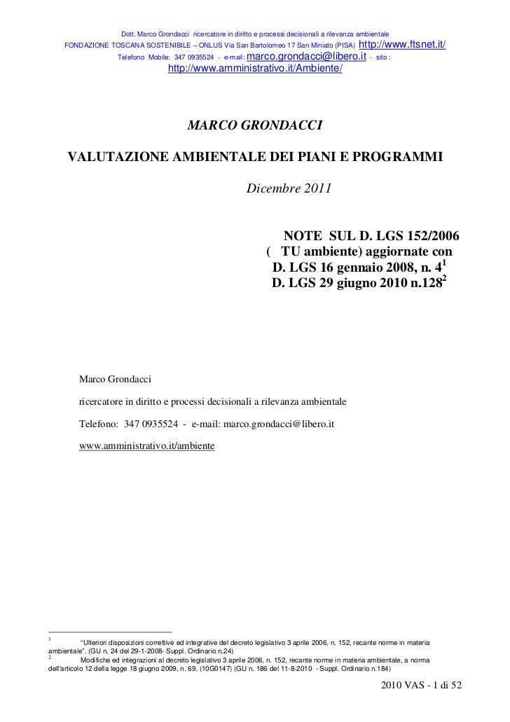 Dott. Marco Grondacci ricercatore in diritto e processi decisionali a rilevanza ambientale     FONDAZIONE TOSCANA SOSTENIB...