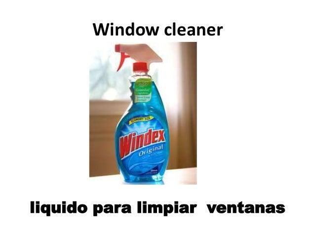Clases de espanol lavanderia y articulos de limpieza - Liquido para limpiar alfombras ...