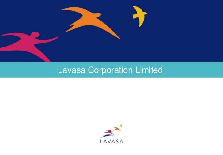 Lavasa – Tourism, Retail, Hospitality, City Services & Leisure