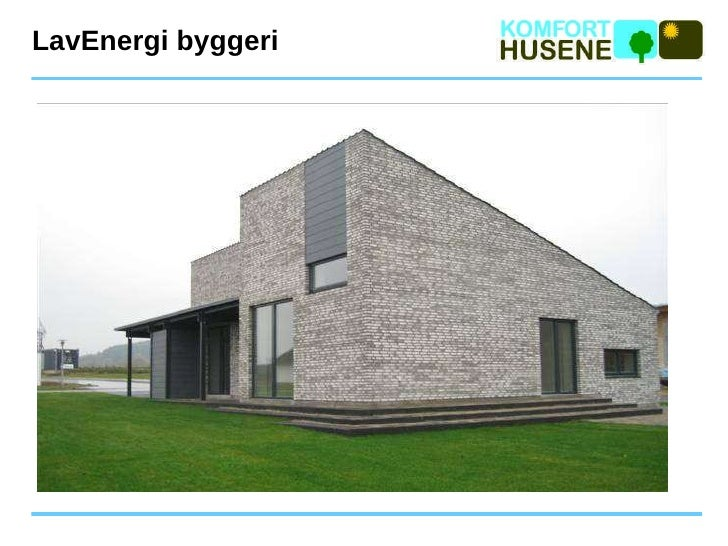 LavEnergi byggeri