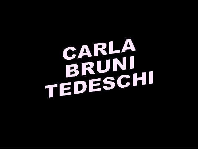 Mannequin, et depuis peu chanteuse, Carla Bruni est née à Turin en Italie, le 23 décembre 1968