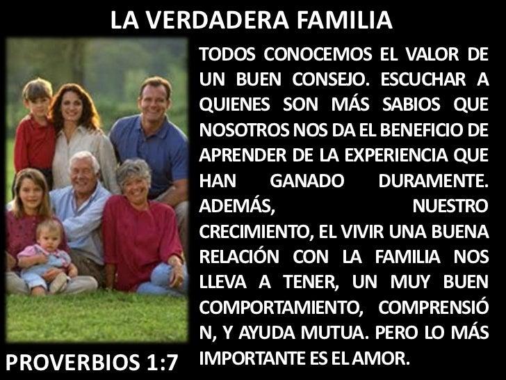 La verdadera familia