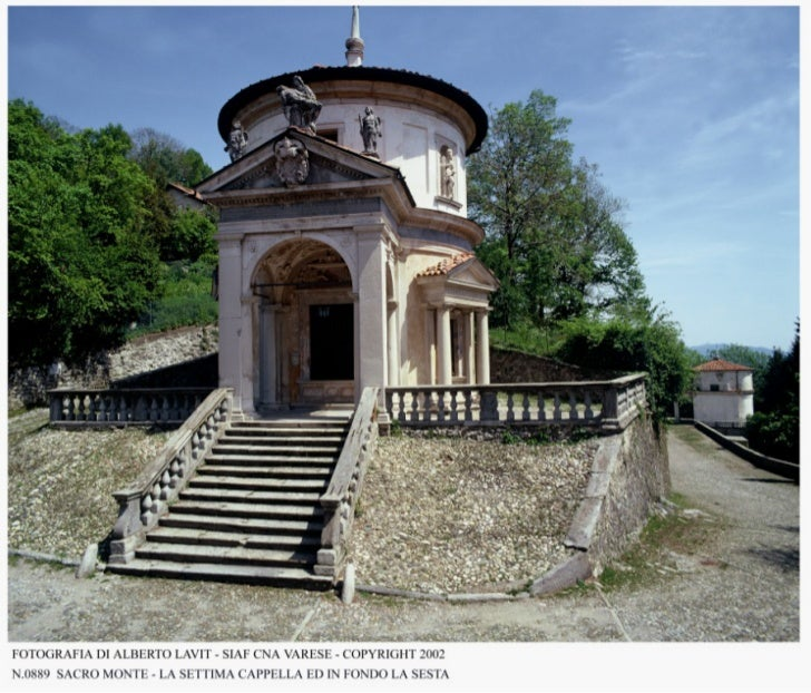 La VII cappella del Sacromonte di Varese, meta di interesse culturale in provincia di Varese
