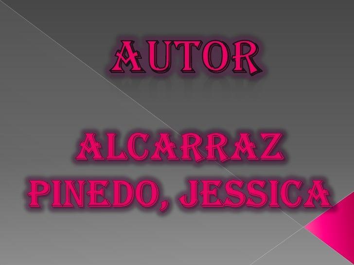 AUTOR<br />ALCARRAZ PINEDO, JESSICA<br />