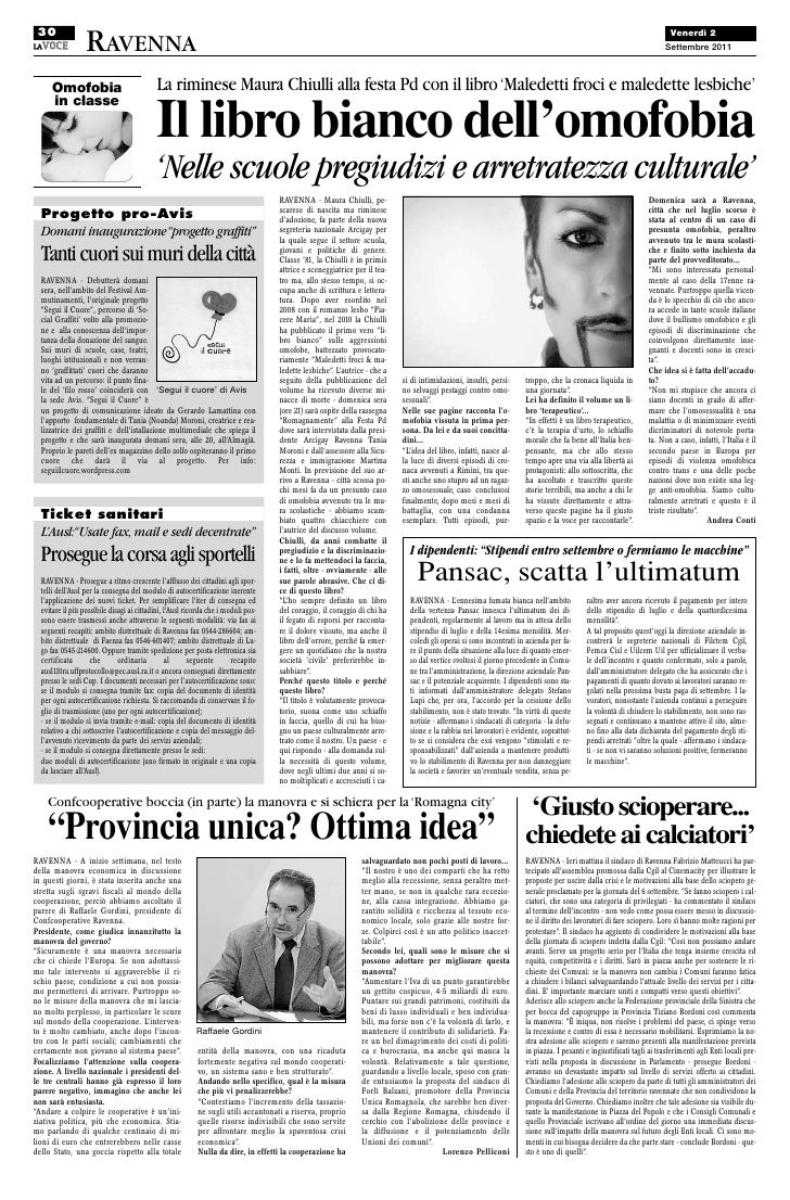 La voce di Romagna intervista a Maura Chiulli