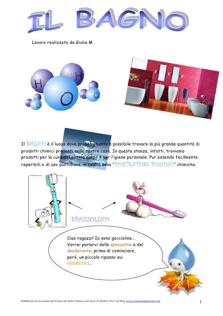 La chimica in bagno - 2