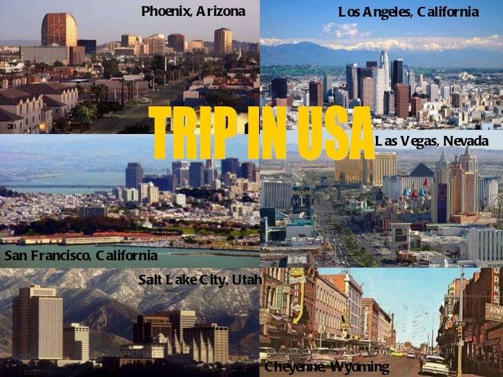 Trip in USA, Leotta e Scali