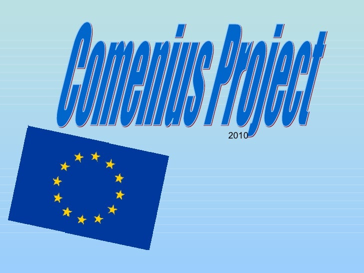 Comenius Project  2010