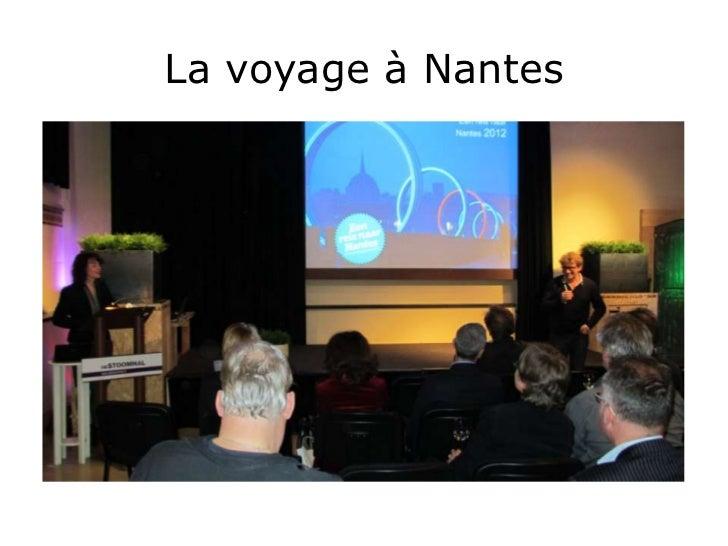 La voyage à Nantes