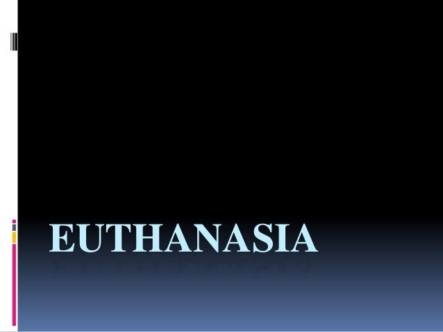 Law 483 euthanasia complete's slide