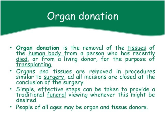 organ research paper This sample organ transplantation research paper is published for educational and informational purposes only free research papers are not written by our writers, they are contributed by users, so we are not responsible for the content of this free sample paper.