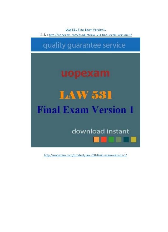 law 531 final