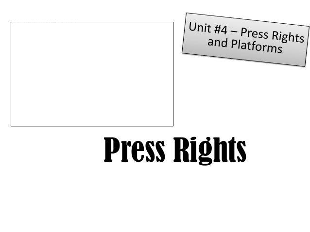 Press Rights