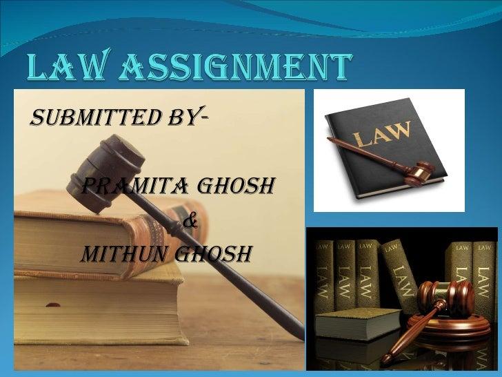Submitted By-  Pramita Ghosh & MITHUN GHOSH