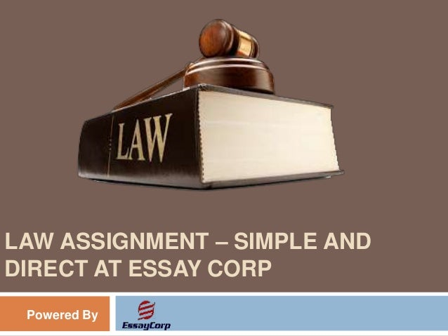corporate and business law assignment 2012 Corporate law (also known as business law or enterprise law or company law) is the body of law that applies to the rights, relations, and conduct of persons.