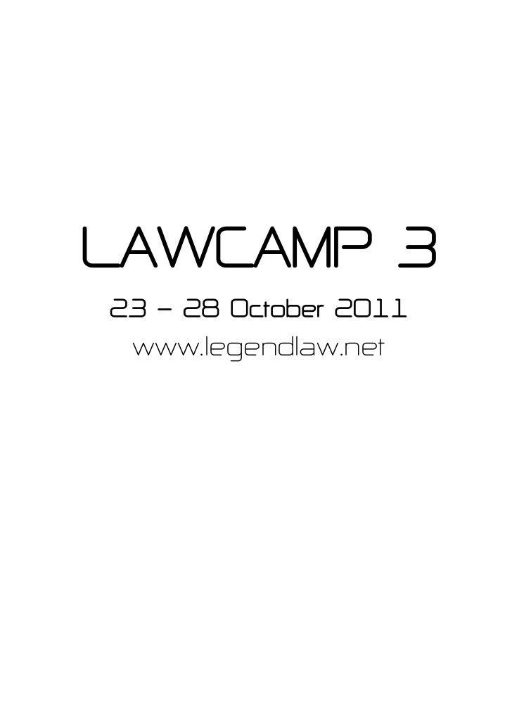 Law camp#3 ค่ายติวสอบตรงนิติศาสตร์