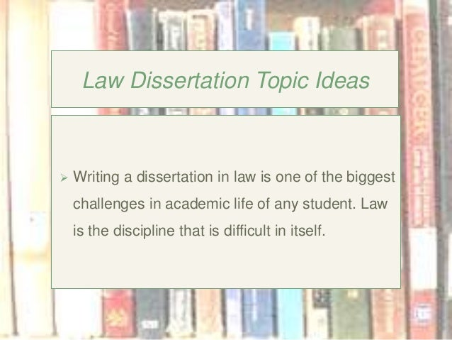 topics for dissertation in finance