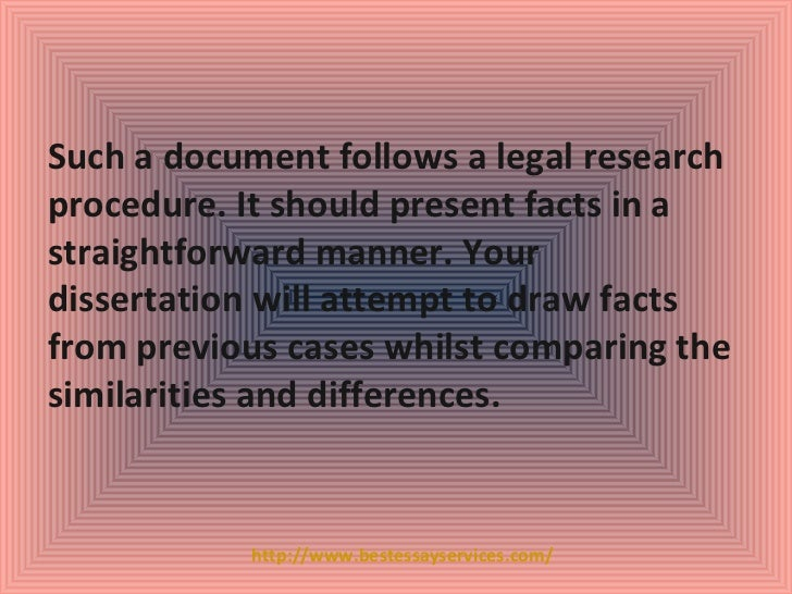 Law dissertation introduction