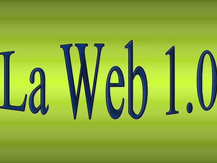 La Web 1.0