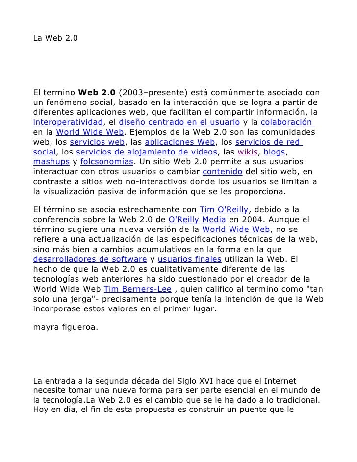 La web 2_0