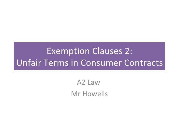 exemption clauses case olley v marlborough 1949 Contract law exclusion clause cases including incorporation olley v marlborough court [1949] the exclusion clauses were held not to be incorporated.