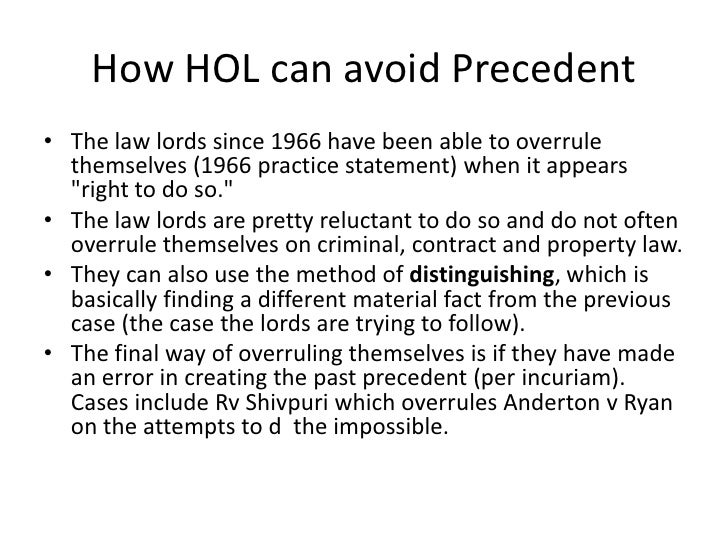 practice statement 1966 Practice statement [1966] 3 all er 77, was a statement made in the house of lords by lord gardiner, lc, on july 26, 1966 on behalf of himself and the lords of appeal in ordinary.