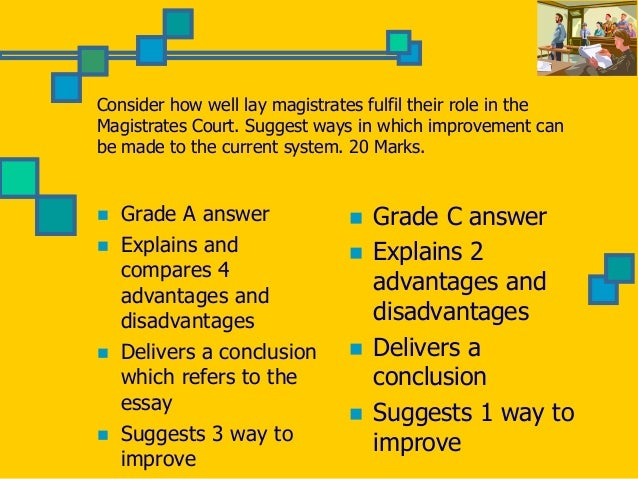Role Of Magistrates Essay Help - image 7