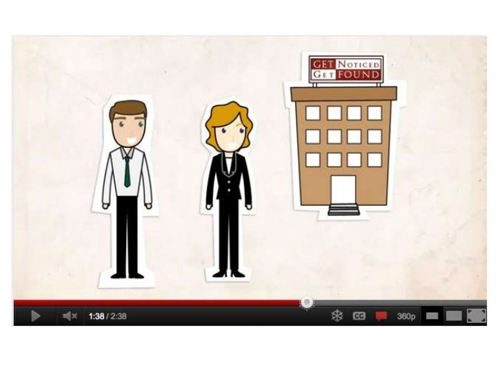 Law firm marketing video for slide share